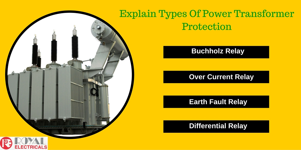 Explain Types Of Power Transformer Protection
