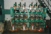 Double Paper Wire Covering Machine